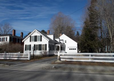 White Picket House _ Fence