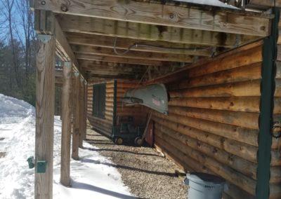 Cob Blast Log Home 3